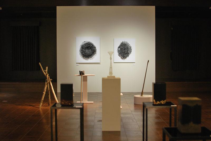 金沢アートスペースリンク2016 第1期美・鑑 グループ展展示風景