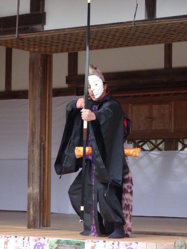 世界文化遺産 総本山金峰山寺 神楽殿に於いて(2016)