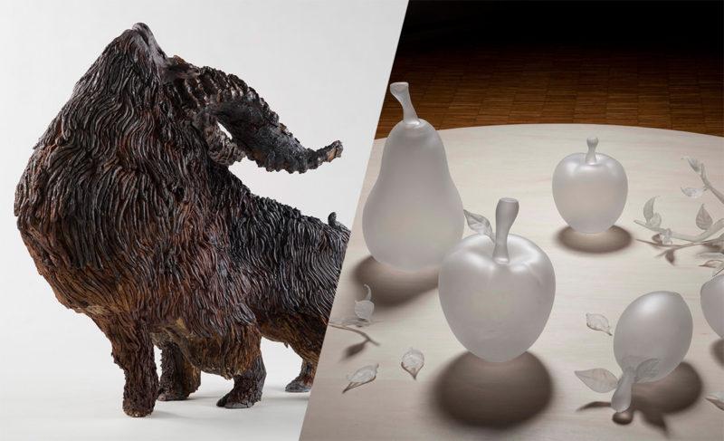 「陶・ガラスコース卒業制作作品展」(2015年)